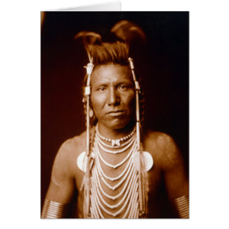 Langes Ohr Bens (amerikanischer Ureinwohner) Karte