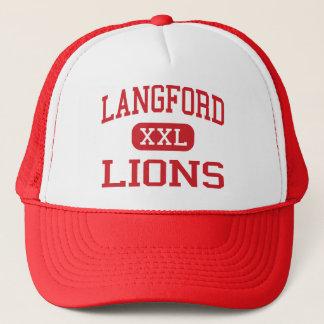 Langford - Löwen - Sekundarschule - Augusta Truckerkappe