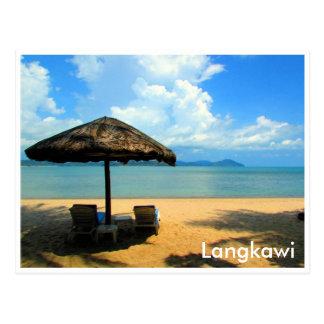 Langkawi-Entspannung Postkarte