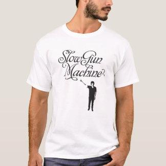 Langsame Gewehr-Maschinen-grundlegender T - Shirt