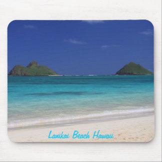 Lanikai Strand-Hawaii-Mausunterlage Mousepads
