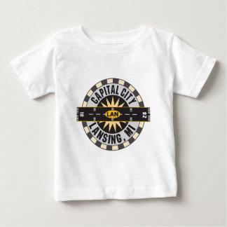 Lansing, Michigan LAN-Flughafen Baby T-shirt
