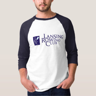 Lansing-Ruderclub u. LRC Logo T-Shirt
