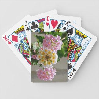 Lantana-Blumen-Spielkarten Bicycle Spielkarten