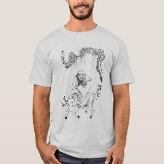Lao Tzu Ming-Dynastie-chinesische Malerei T-Shirt