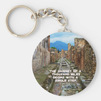 Lao Tzu REISE-Reisezitat Schlüsselanhänger