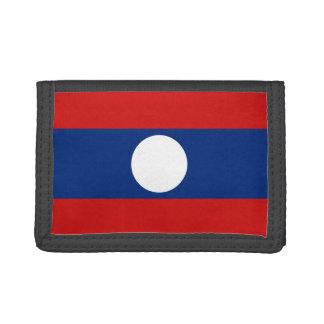 Laos-Flaggen-Geldbörse