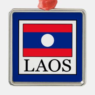 Laos Silbernes Ornament