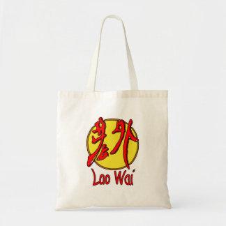 Laowai - Logo Tragetasche