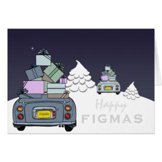 Lapis graues blasses Aqua Figaro glückliche Figmas Karte