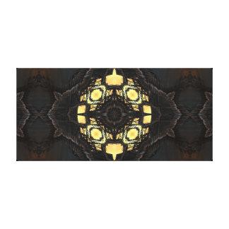 Lappen-Umbau-Symmetrie Leinwanddruck