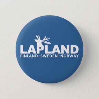 LAPPLAND-Gewohnheitsknopf Runder Button 5,1 Cm