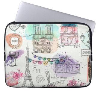Laptop Hülse-Paris Laptopschutzhülle