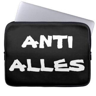 """Laptop Schutzhülle """"ANTI ALLES"""" Laptopschutzhülle"""