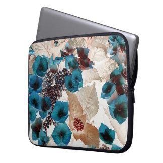 Laptop Schutzhülle mit Blumenmuster Laptop Sleeve