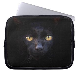 Laptophülse der schwarzen Katze Laptop Sleeve