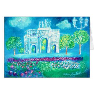 L'Arc de Triomphe Karte