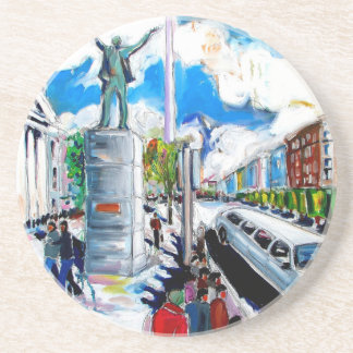 larkin Monument oconnell Straße Dublin Untersetzer