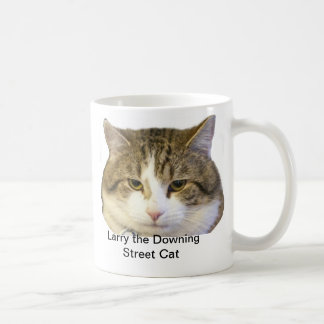 Larry das Downing Street-Katzen-Gesicht - Kaffeetasse
