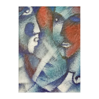 Las Caras Acryl Wandkunst
