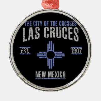 Las Cruces Silbernes Ornament