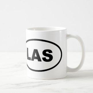 LAS Las Vegas Oval Kaffeetasse