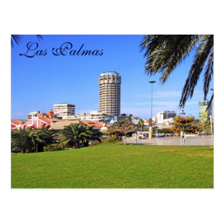 Las Palmas, Gran Kanarische Insel, Spanien Postkarte