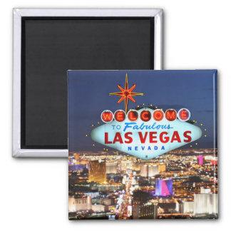 Las Vegas-Andenken Quadratischer Magnet