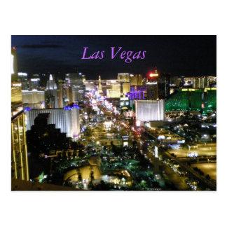 Las- Vegas Boulevardstreifen Postkarte