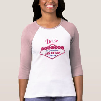 Las Vegas-Braut T Shirt