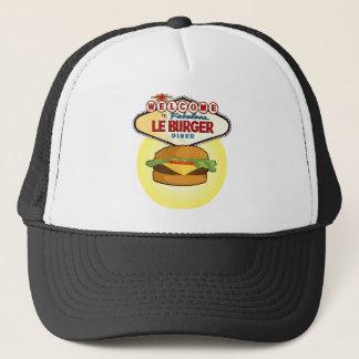 Las Vegas-Burger-Restaurant Truckerkappe