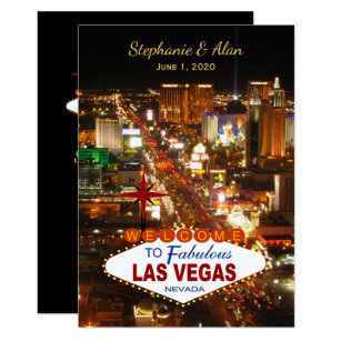 Las Vegas Einladungen   Zazzle.de