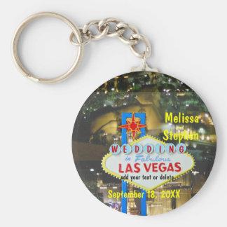 Las Vegas, das Streifen-Ansicht Wedding ist Schlüsselanhänger