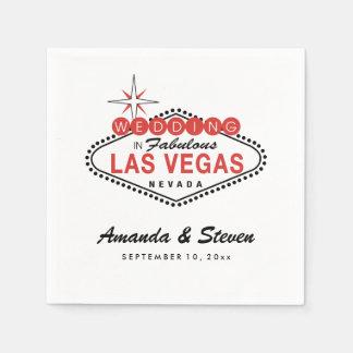 Las Vegas, das | Wedding Papierservietten Wedding