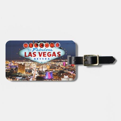 Las Vegas-Geschenke Kofferanhänger