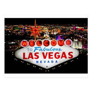 Las Vegas-Geschenke Postkarte