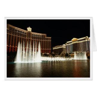 Las Vegas-Gruß-Karte Karte