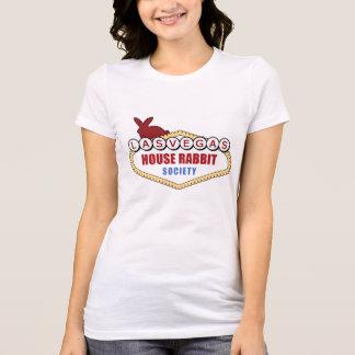 Las Vegas-Haus-Kaninchen-Gesellschafts-dünnes T-Shirt