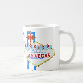 Las Vegas-Heirat-Feier Kaffeetasse