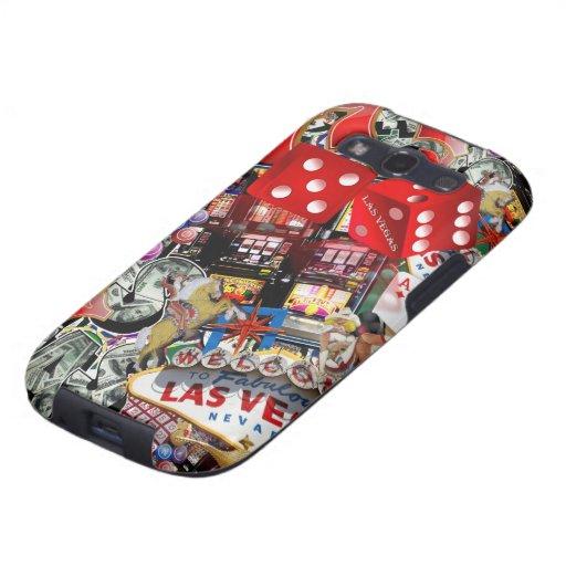 Las Vegas-Ikonen - Spieler-Freude Samsung Galaxy S3 Hülle