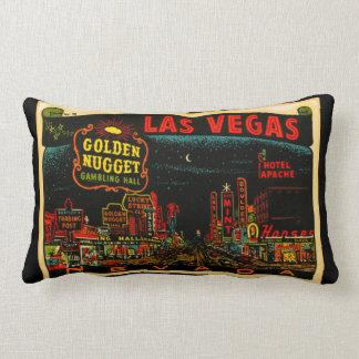Las Vegas-Kasino-Streifenlumbar-Kissen Lendenkissen