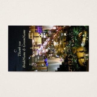 Las Vegas Nevada danken Ihnen Geschenk-Umbau Visitenkarte