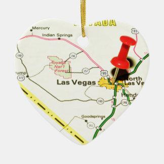 Las Vegas, Nevada Keramik Ornament