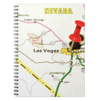 Las Vegas, Nevada Spiral Notizblock