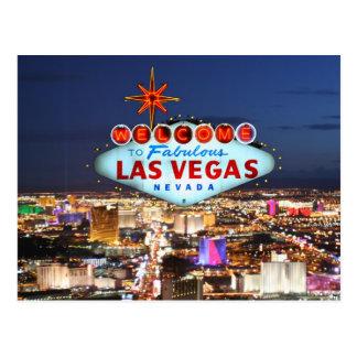 Las Vegas-Postkarte Postkarten