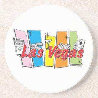 Las-Vegas-Retro Getränkeuntersetzer