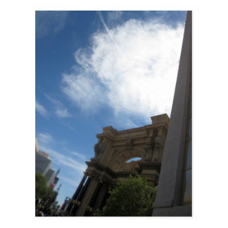 LAS VEGAS-Skyline-Fotografie - Kasinos, Postkarte