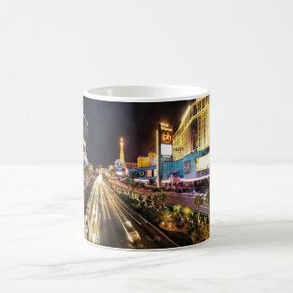 Las Vegas-Streifen 3 Kaffeetasse
