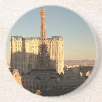 Las Vegas-Streifen 3 Sandstein Untersetzer