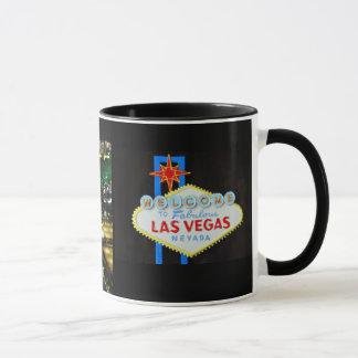 Las Vegas-Streifen und Zeichen-Andenken Tasse